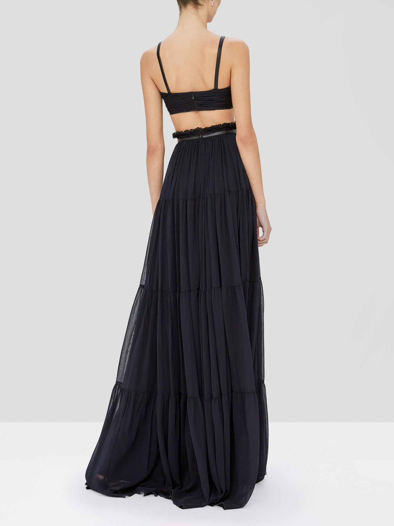 biharie dress in black - Rear View