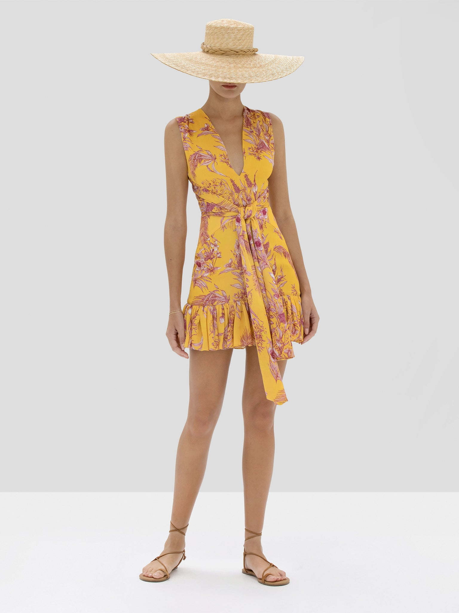 Alexis Cassara Dress in Tuscan Palm from Spring Summer 2020 Collection