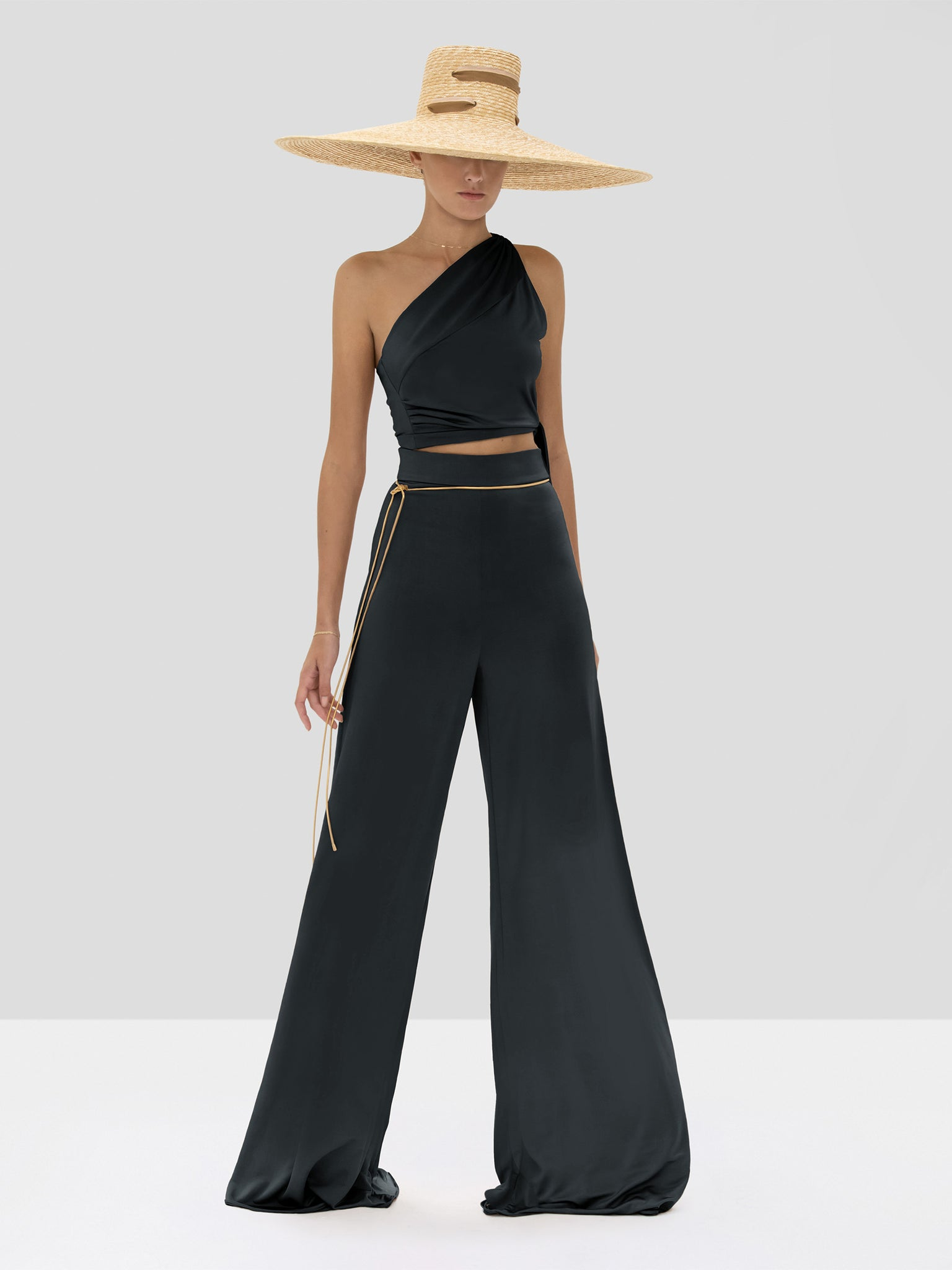 Alexis Gwen Top and Camilo Pant in Black from the Spring Summer 2020 Collection