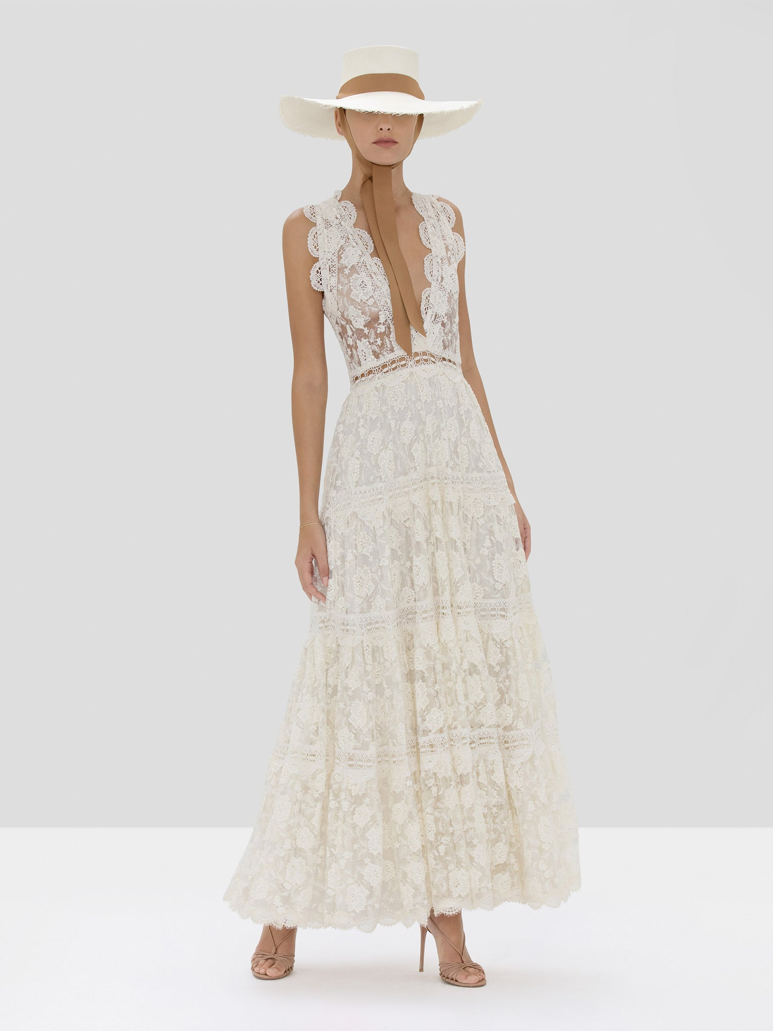 Alexis Havana Dress in Ivory from Spring Summer 2020 Collection