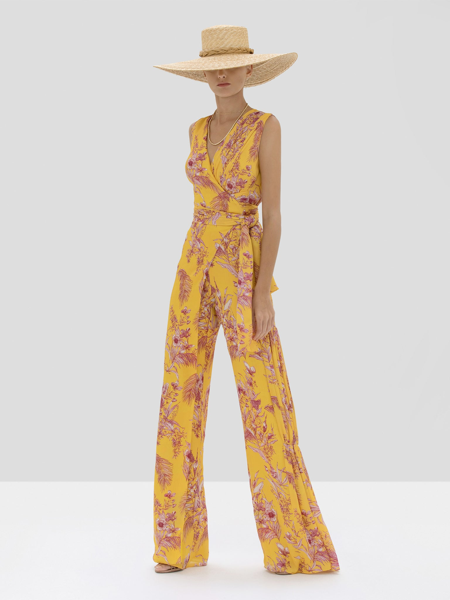 Alexis Kamiko Jumpsuit in Tuscan Palm from Spring Summer 2020 Collection