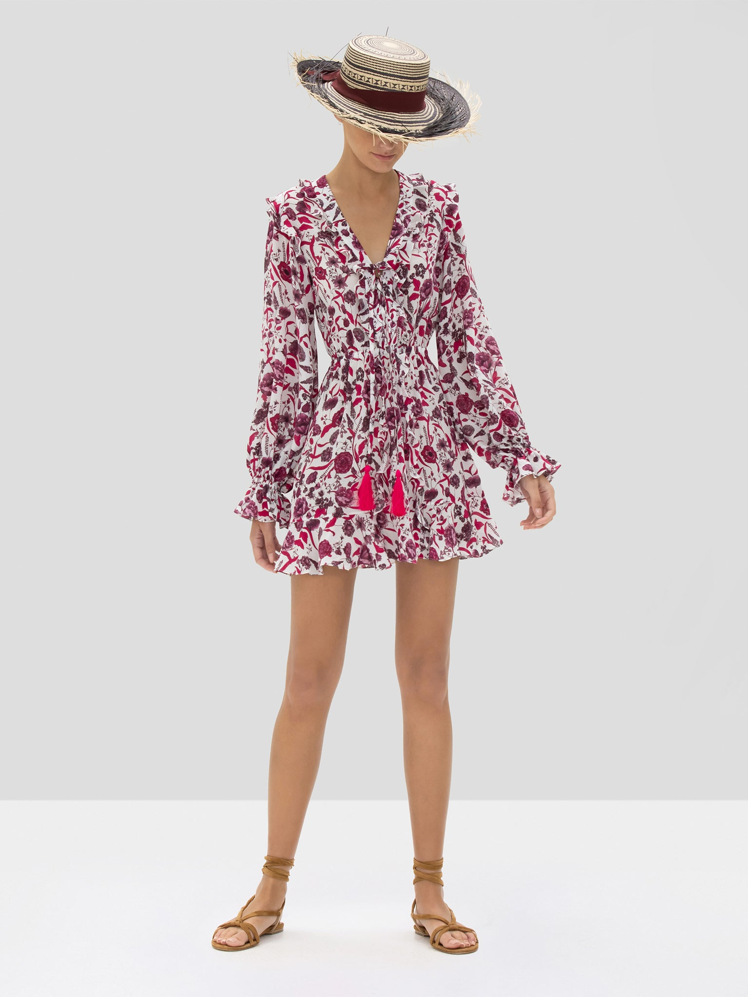 Alexis Kosma Dress in Berry Floral from Spring Summer 2020