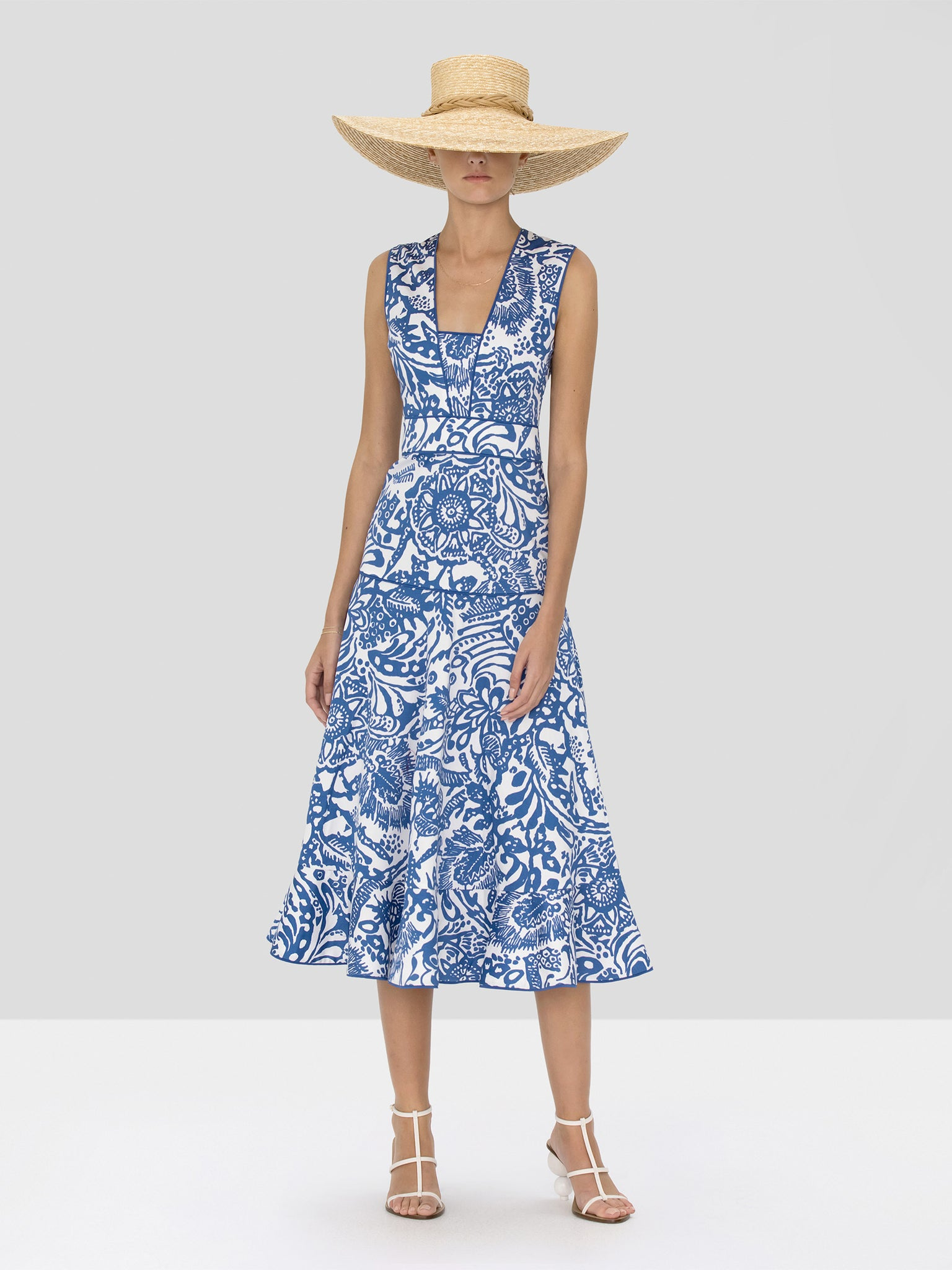 Alexis Marianna Dress in Tropical Blue from Spring Summer 2020 Collection