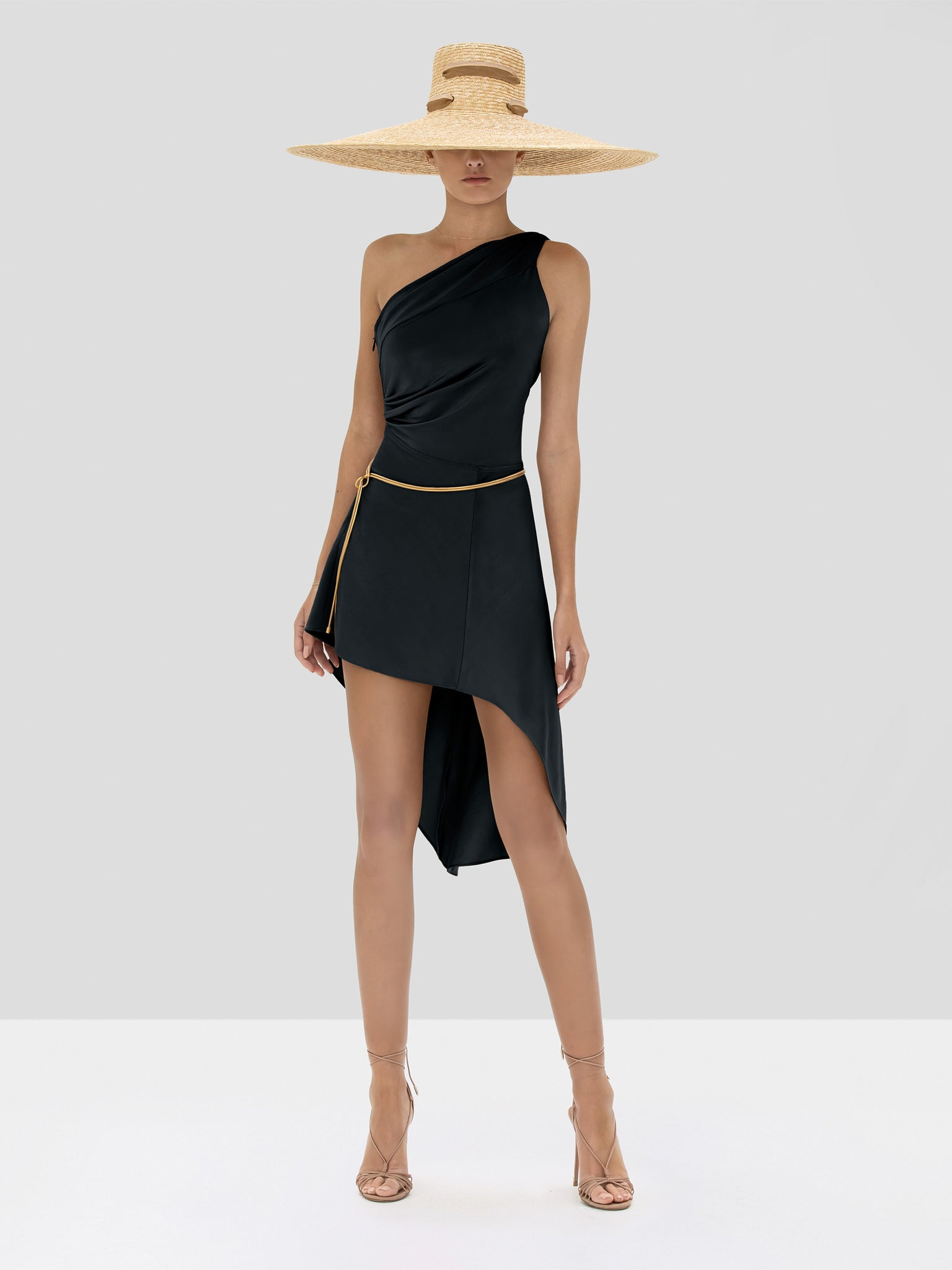 Alexis Mellie Dress in Black from the Spring Summer 2020 Collection