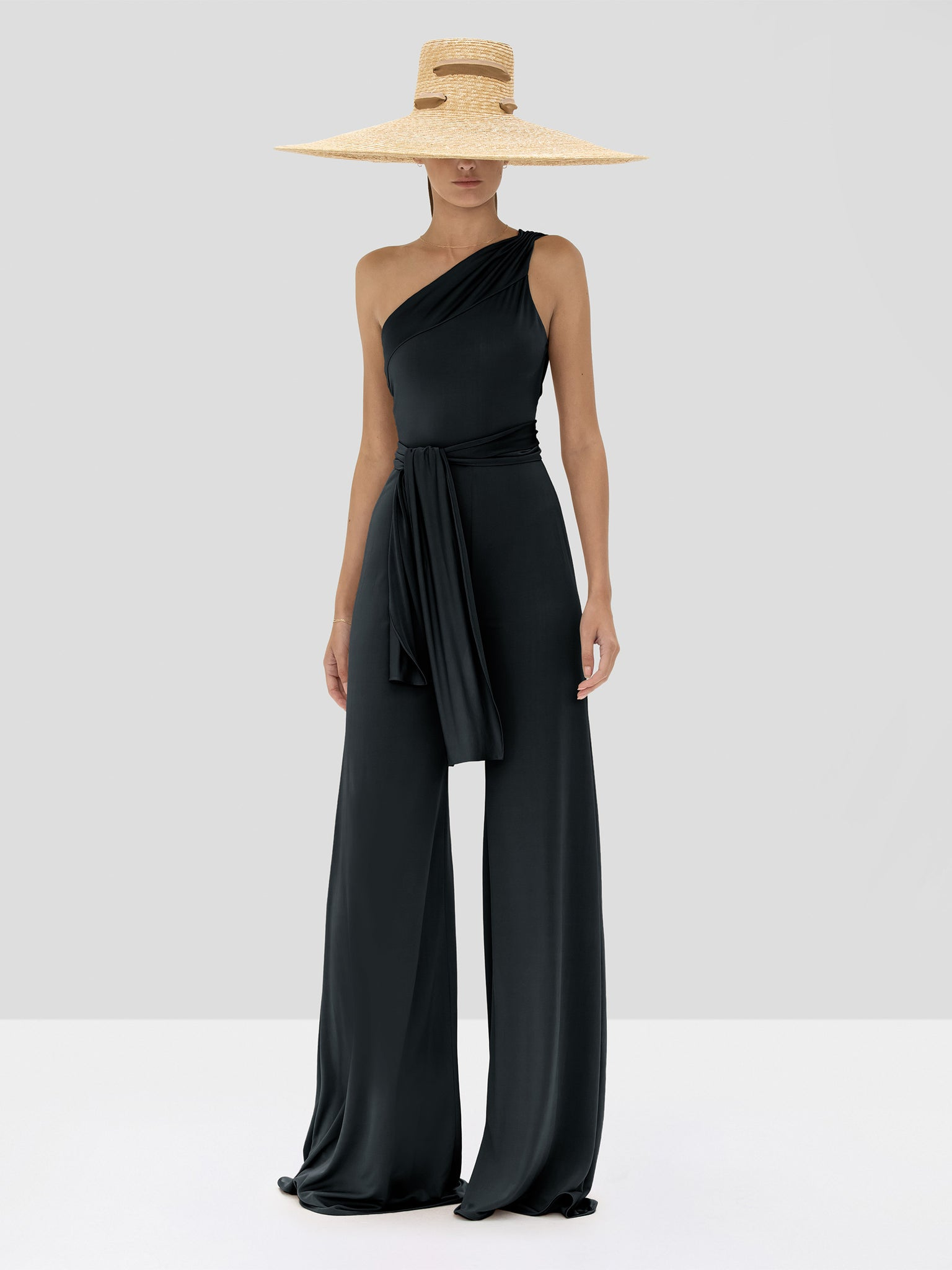 Alexis Parson Jumpsuit in Black from the Spring Summer 2020 Collection