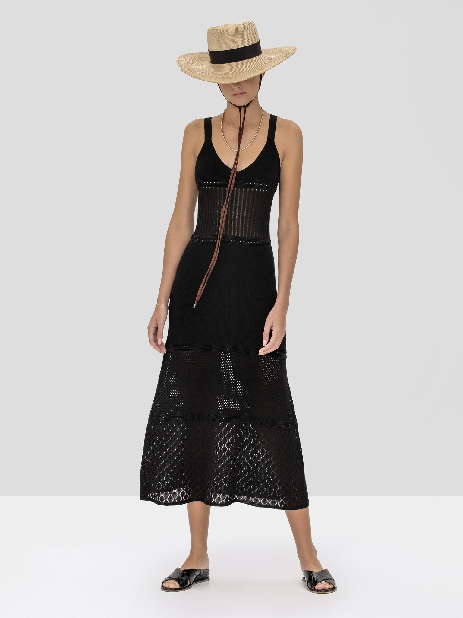 Alexis Rozanna Dress in Black from Spring Summer 2020