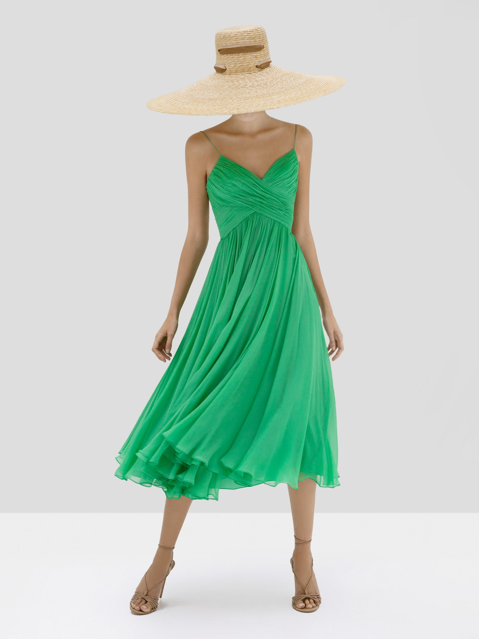 Alexis Sarrana Dress in Green from Spring Summer 2020