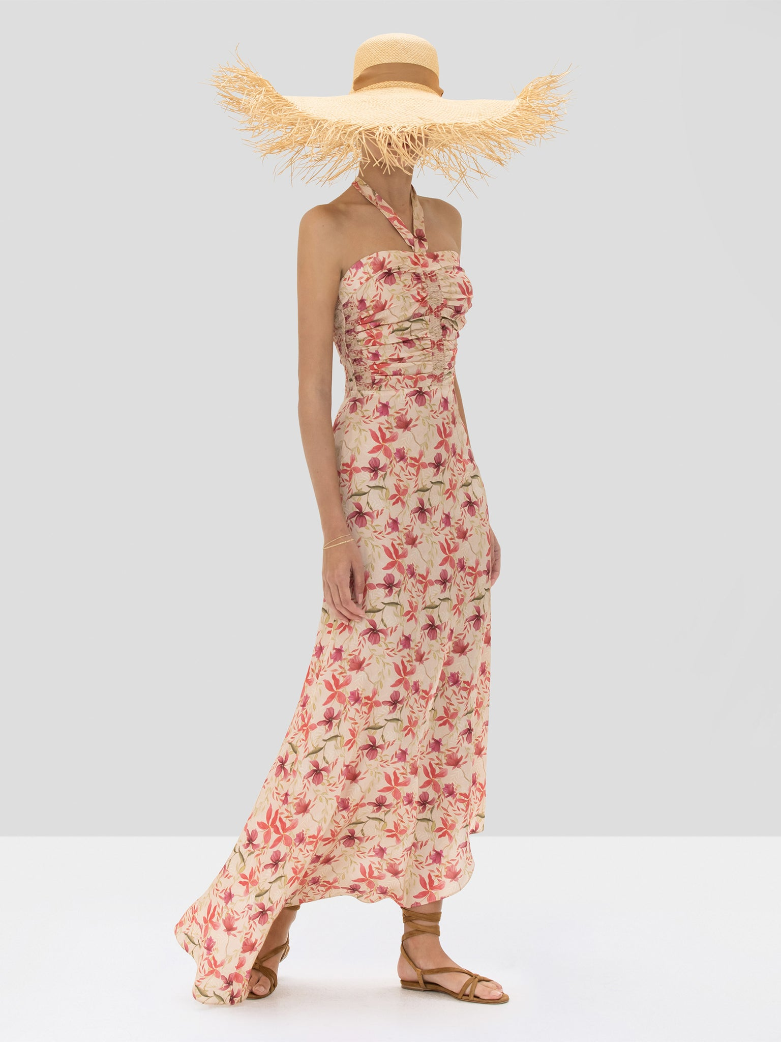 Alexis Tahanie Dress in Wild Orchid Rose from the Spring Summer 2020 Ready To Wear Collection