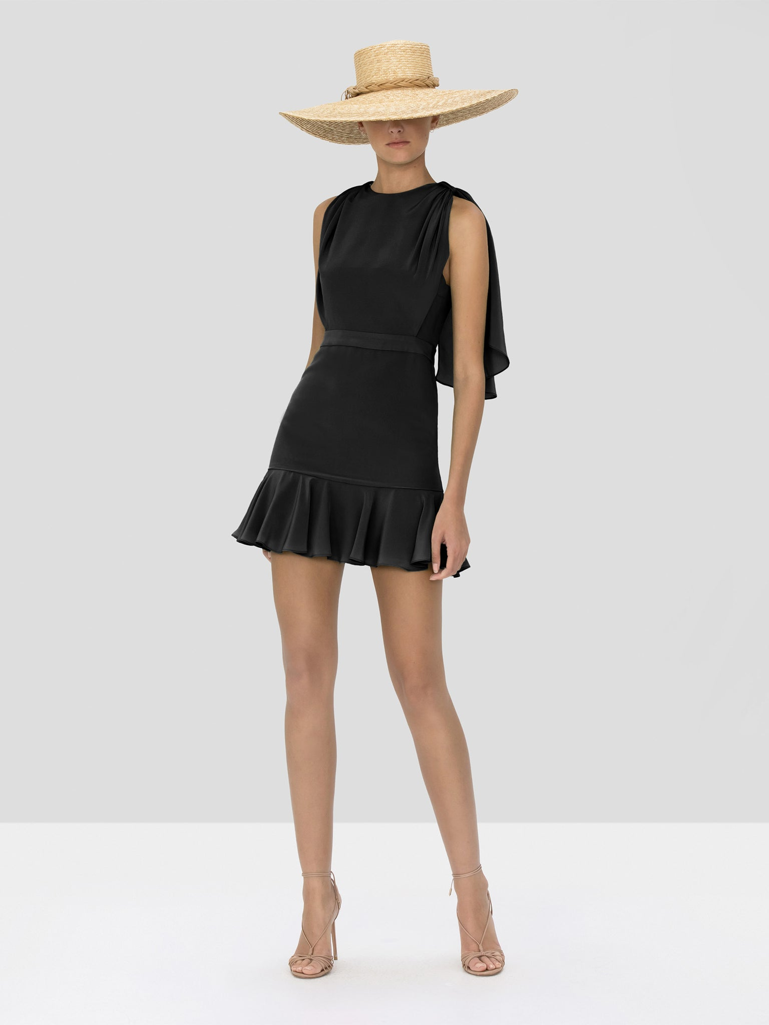 Alexis Tensia Dress in Black from Spring Summer 2020 Collection