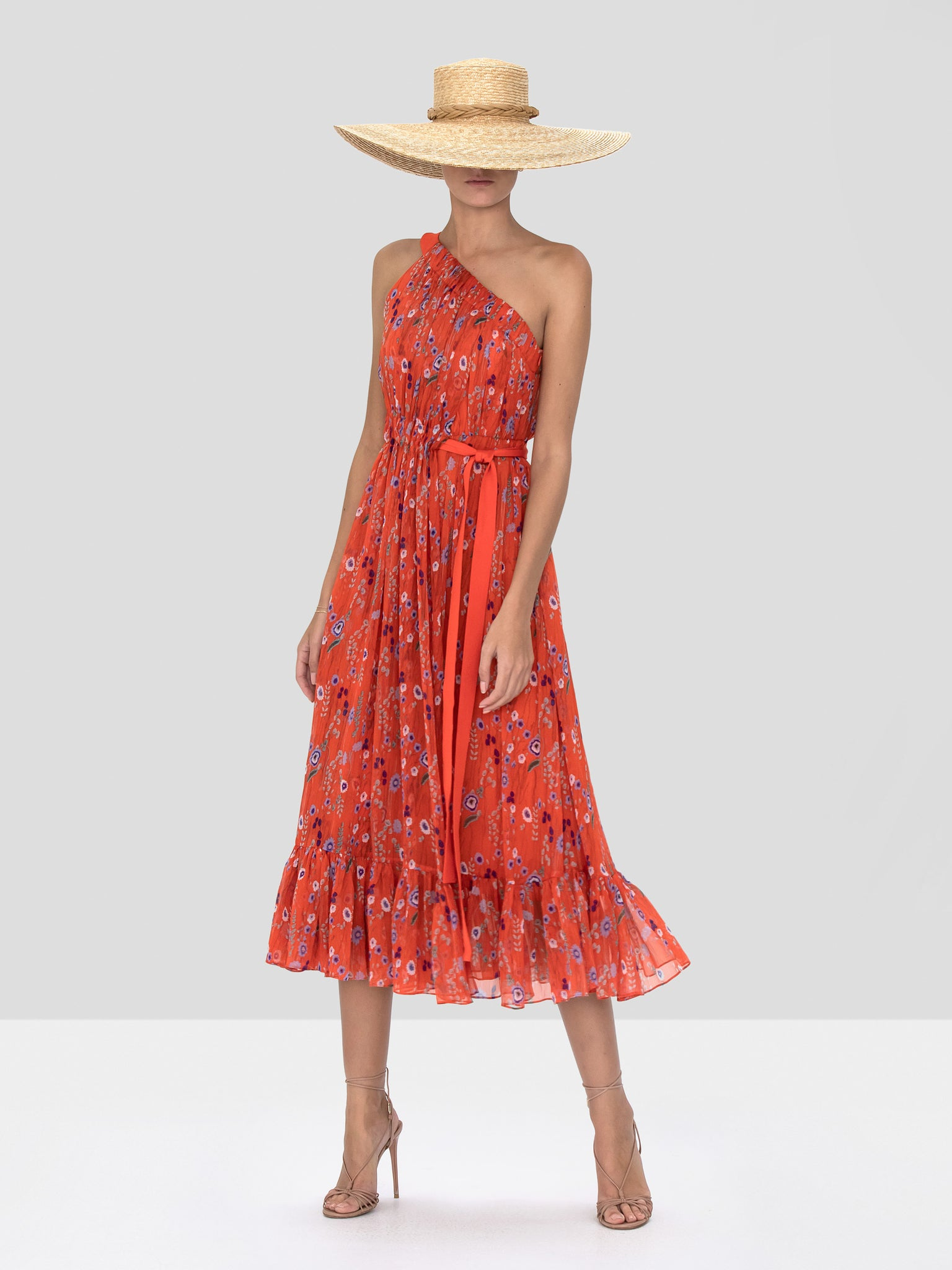 Alexis Teodora Dress in Red Bouquet from the Spring Summer 2020