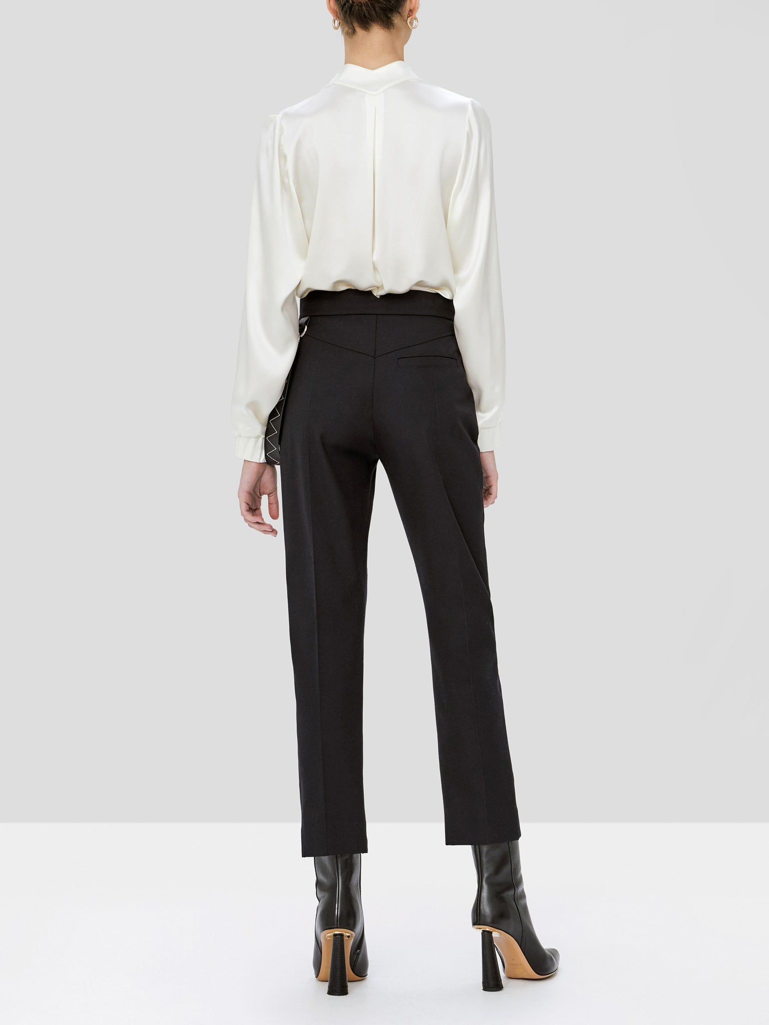 lucero pant in black - Rear View