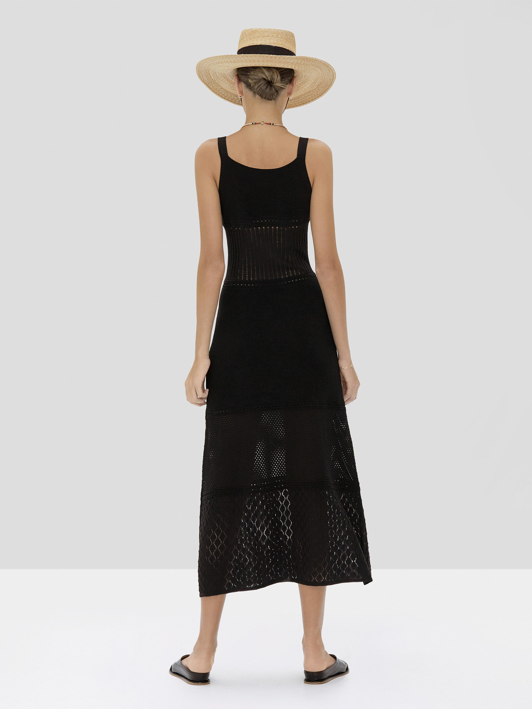 Alexis Rozanna Dress in Black from Spring Summer 2020 - Rear View
