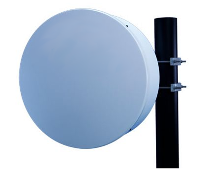 High Performance Antenna, 60GHz, Clip Mount, Radiowaves Single-polarized for use with DragonWave Radios