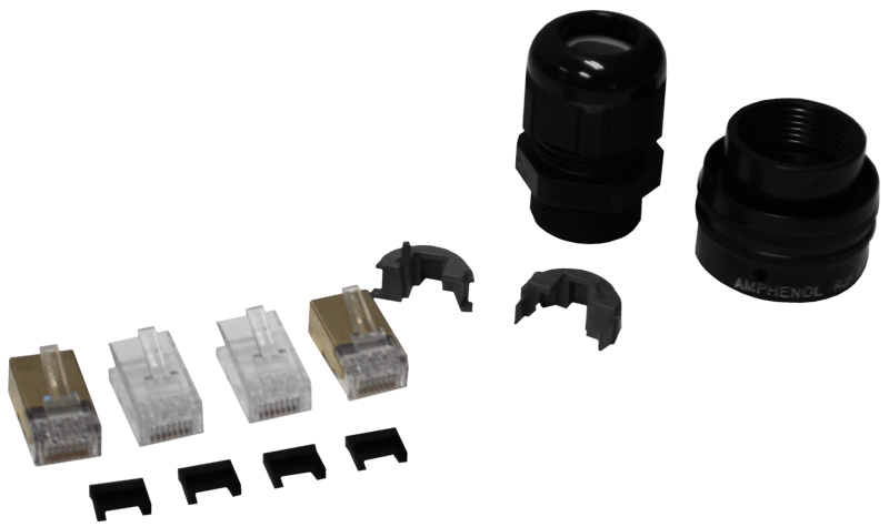 Amphenol Cat5e Cable Connector Kit