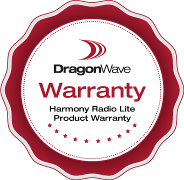 Harmony Radio Lite Product Warranty
