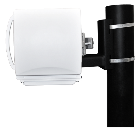 5.x GHz  Harmony Radio Lite with PoE+ and integrated 190mm dual-pol flat antenna