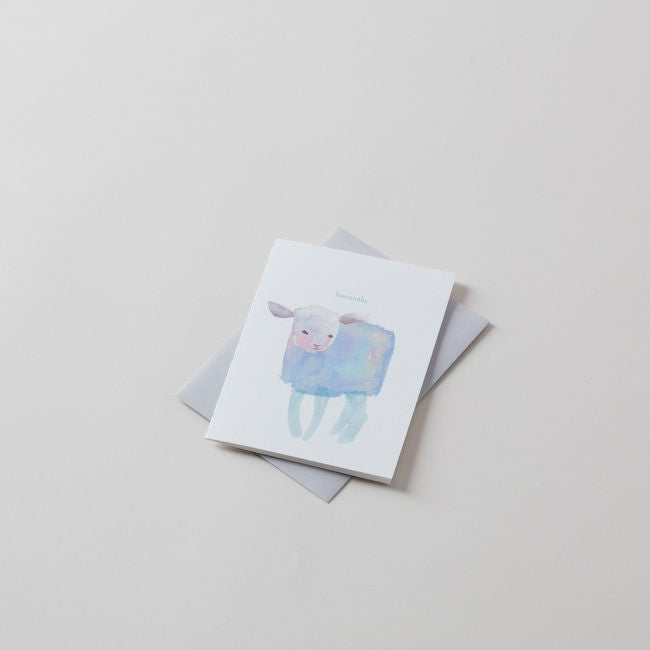 Baaaby Blank Greeting Card
