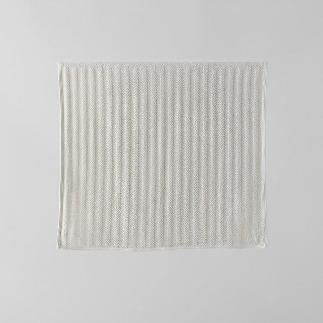Fog Linen Herringbone Cotton Towel