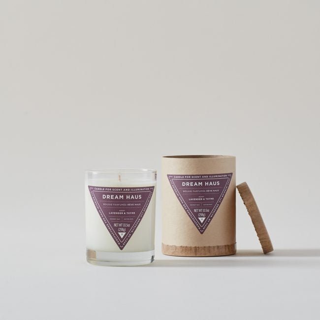 Haus Interior Dream Haus: Lavender + Thyme Scented Candle