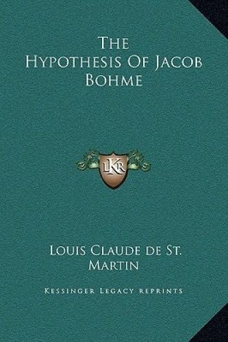 Hypothesis of Jacob Bohme