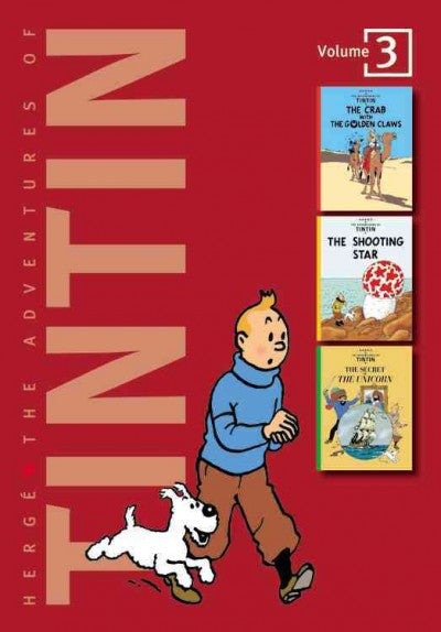 Adventures of Tintin : The Crab With the Golden Claws/the Shooting Star/the Secret of the Unicorn