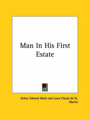 Man in His First Estate