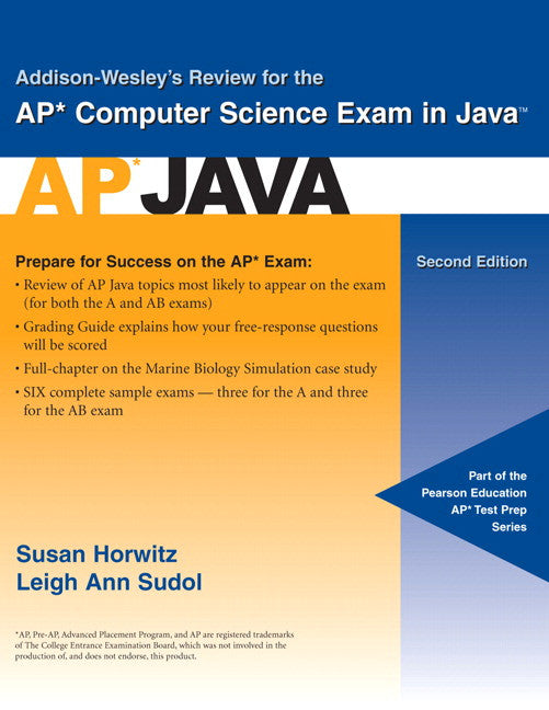 Addison Wesley's Review For The Ap Computer Science Exam In Java : Ap Exam