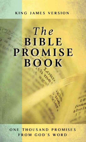 Bible Promise Book KJV