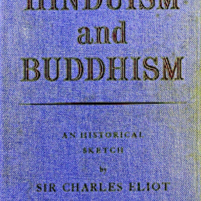 Hinduism & Buddhism : A Historical Sketch