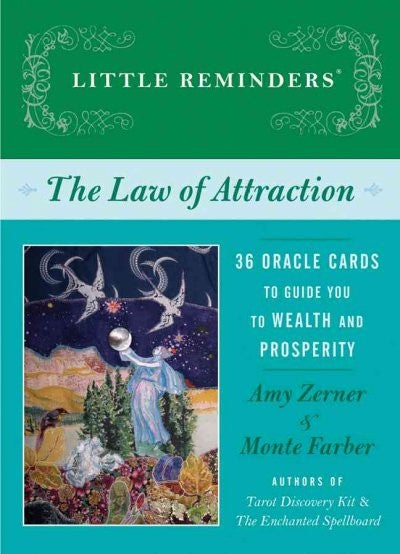 Law of Attraction : 36 Oracle Cards to Guide You to Wealth and Prosperity
