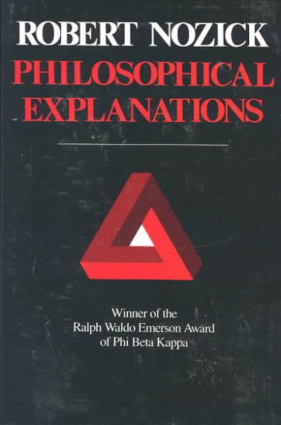 Philosophical Explanations