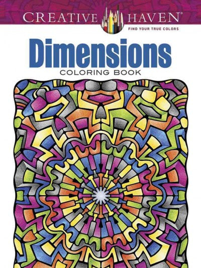 Dimensions Adult Coloring Book