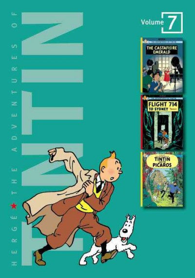 Adventures of Tintin : The Castafiore Emerald / Flight 714 to Sydney / Tintin and the Picaros