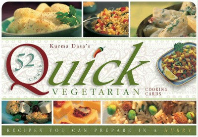 Quick Vegatarian Recipe Cards : Recipes You Can Prepare in a Hurry