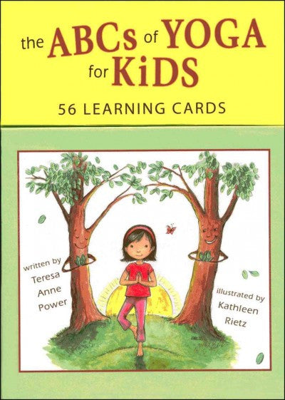 Abcs of Yoga for Kids Learning Cards