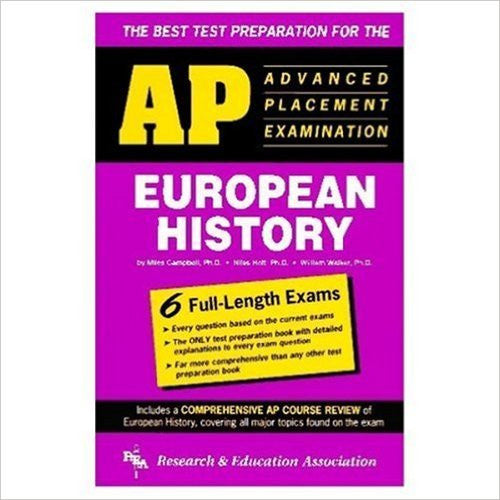 Best Test Preparation For The Advanced Placement Examination In European History