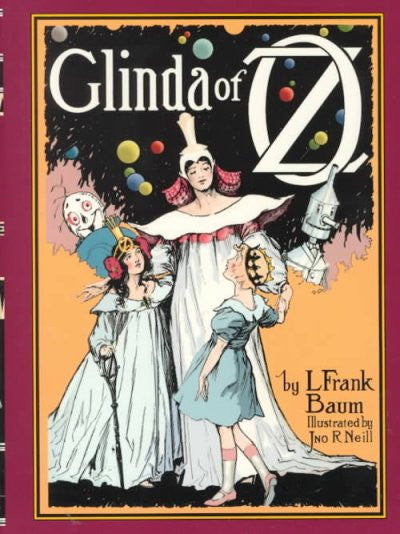 Glinda of Oz : In Which Are Related the Exciting Experiences of Princess Ozma of Oz, and Dorothy, in Their Hazardous Journey to the Home of the Flatheads, and to the