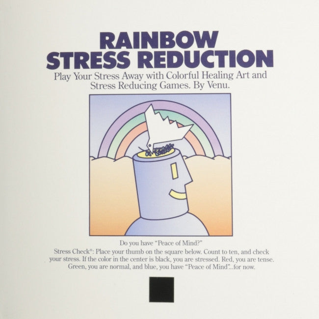 Rainbow Stress Reduction : Play Your Stress Away With Colorful Healing Art and Stress Reducing Games