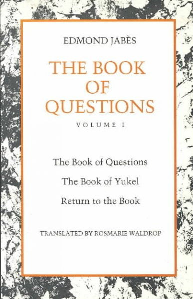 Book of Questions : The Book of Questions/the Book of Yukel/Return to the Book/3 Books in 1