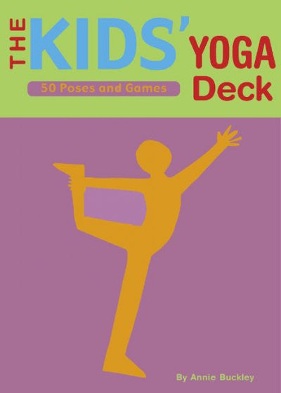 Kid's Yoga Deck : 50 Poses and Games