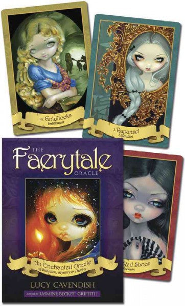 Faerytale Oracle : An Enchanted Oracle of Initiation, Mystery & Destiny