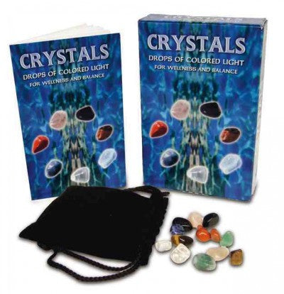 Crystals : Drops of Colored Light for Wellness and Balance