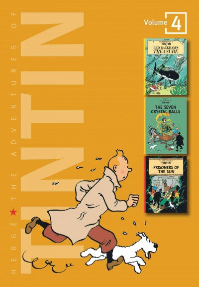 Adventures of Tintin : Red Rackham's Treasure/the Seven Crystal Balls/Prisoners of the Sun