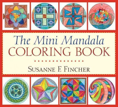Mini Mandala Adult Coloring Book