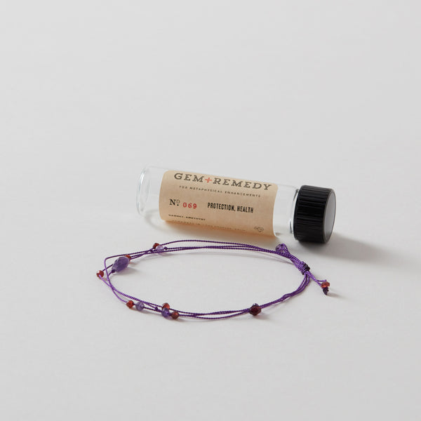 Gem Remedy Health + Protection Bracelet