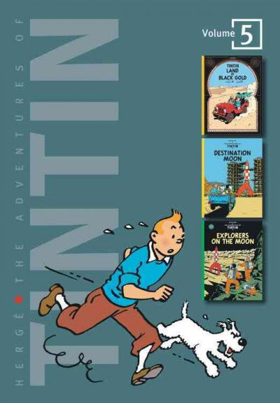 Adventures of Tintin : Land of Black Gold / Destination Moon / Explorers on the Moon