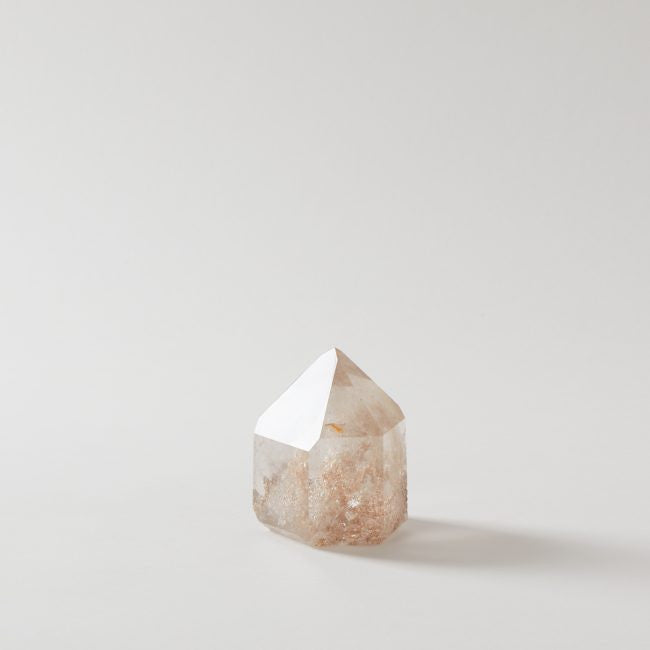 Quartz with Mineral Point Crystal