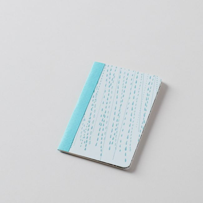 Rain Notebook: Medium 44 Page Grid Notebook