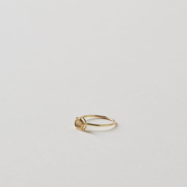 Tura Sugden Butterscotch Slice Stacking Ring