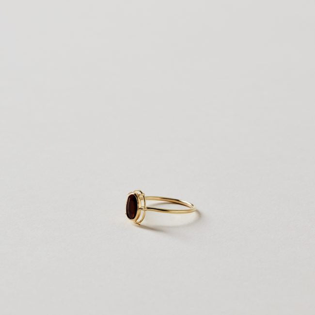 Tura Sugden Caramel Tourmaline Solitaire Ring